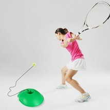 Tennis Trainer Practice Baseboard Tool Exercise Rebound Sports Ball With... - $14.23+
