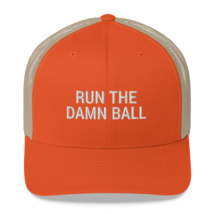 Run the Damn Ball / run the Damn Ball / Trucker Cap image 8
