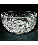 """1 (One) CELTIC CRYSTAL HARP Cut Lead Crystal Bowl by Brian Boru 4.25"""" W-... - $26.16"""