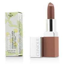 Clinique By Clinique Pop Matte Lip Colour + Primer - # 01 Blushing Pop --3.9G/0. - $32.00