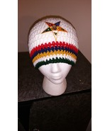 Order of Eastern Star Handmade Crochet Beanie - $23.00