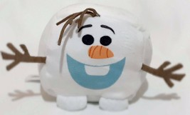 Disney Olaf 5x5 Cubd Square Stuffed Plush White Cube Frozen Snowman - $9.64