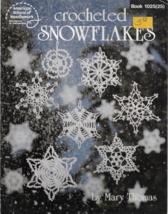 Crocheted Snowflakes Pattern Booklet-16 Snowflake Patterns. - $5.86