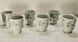 6 Iris By Excel Pink & Blue Irises Fresh Flowers Breakfast Coffee Tea Mu... - $59.98
