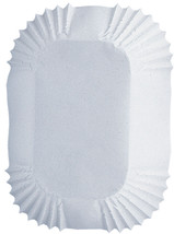 """Petite Loaf Cups-White 50/Pkg 1.25""""X3.25"""", Set Of 6 - $18.82"""