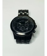 RELIC Crosby ZR15767 Men's Black Stainless Steel Analog Dial Wrist Watch  - $19.55