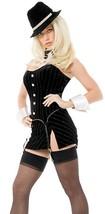 Fun World Women's  Playboy Gangsta Lady Adult Halloween Costume Size XS (2-4) - $134.38