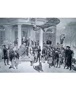 BOSTON BOYS in 1770s Challenge British General Gage - 1888 Fine Antique ... - $21.60