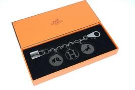 Hermes Breloque Olga Ruthenium Silver Charm bag Amulette Cadena Berloque - $1,861.20