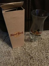 Hard Rock Cafe Nashville, Tennessee Hurricane Mixed Cocktail Drink Glass... - $19.79