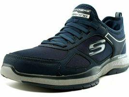 NEW Men's Skechers Burst Athletic Slip-On Memory Foam Shoes Black or Navy image 9