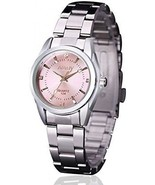 Women Lady Dress Analog Quartz Watch With Stainless Steel Band, Casual ... - £24.10 GBP