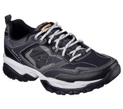 52700 W Wide Fit Navy Skechers Shoes Men Memory Foam Sport Train Comfort... - $56.99