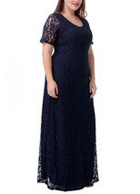 Lace maxi Dresses at Bling Brides Bouquet- Online Bridal Store image 4