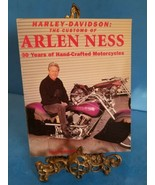 Harley-Davidson: The Customs of Arlen Ness 30 Years of Handcrafted - VER... - $23.36