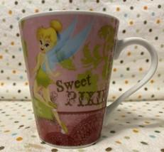 Disney Tinkerbell Tink Sweet Pixie Ceramic Coffee Mug - 2010's - $21.00