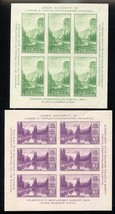 750-51, Mint VF NH Set of Two Souvenir Sheets - Stuart Katz - $17.95