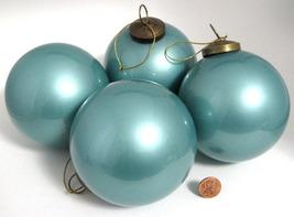 2001 4 blue christmas ornaments potterybarn b thumb200
