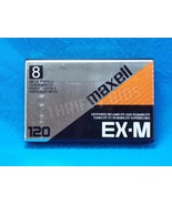 Maxell EX-M Metal Particle 8mm Blank Camcorder Videocassette Tape 120 P6... - $7.91