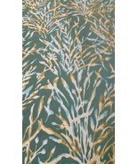 2.5 yds Donghia Upholstery Fabric Nemo Botanical Seaweed Green 10080-40 PZ6 - $277.88