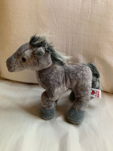 WEBKINZ Plush Gray Arabian Horse, GANZ Toy, Used, Nice Condition