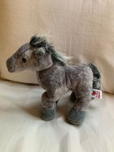 WEBKINZ Plush Gray Arabian Horse, GANZ Toy, Used, Nice Condition  image 1