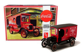 AMT 1923 Ford Model T Delivery Coca Cola 1/25 Scale Model Kit New in Box - $24.88
