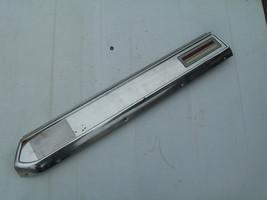 1970 LINCOLN MARK III RIGHT LOWER DOOR PANEL INSIDE TRIM MOLDING  LIGHT ... - $197.01
