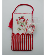 Candy Cane Pocket Kit christmas cross stitch kit JBW Designs  - $13.00