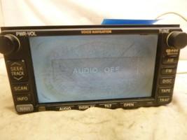 02 03 Lexus ES300 Radio Cd Gps Navigation 86120-33550 17002 CP43 CP Parts Only - $99.00