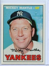 MICKEY MANTLE - 1967 TOPPS - CARD #150 - IDENTICAL REPRINT IN EVERY ASPECT - $2.95