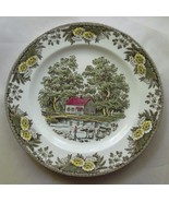 "Fair Oaks Dinner Plate by Royal China USA 10"" Country Scene Cows - $19.00"