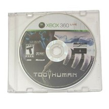 Microsoft Xbox 360 Too Human Video Game 2008 - $8.80