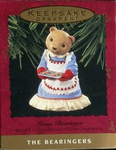 1993 - New in Box - Hallmark Christmas Keepsake Ornament - Mama Bearinger - $2.22