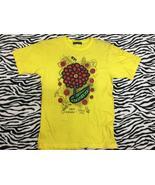 Vintage 24 Hour Television Yayoi Kusama x Satoshi Ohno Big Flower Logo T... - $80.00