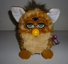 Vintage Animated Talking  Moving Furby Orange Tiger Electronic Plush Mod... - $79.99