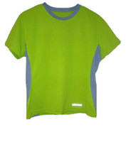 MARMOT Outdoor Gear SIZE L Athletic Top WICKING Reflective SHORT-SLEEVES... - $14.28