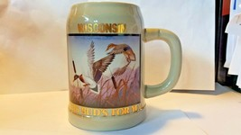 Budweiser Special Event Steins Collectible Wildlife Series 1990 Wisconsi... - $26.73