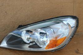 11-13 Volvo s60 Sedan Halogen Headlight Lamps Set LH & RH - POLISHED image 3