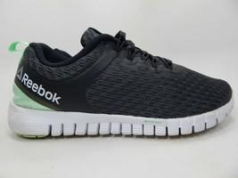 Reebok Z Évalué Taille Us 7 M (B) Ue 37.5 Femmes Chaussures Course Noir Vert - $29.20
