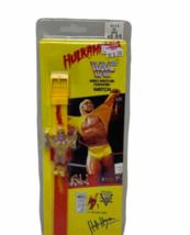 Vtg Sealed New HULK HOGAN WATCH ON ORIGINAL CARD WWF MARVEL TITAN SPORTS 1991 image 1