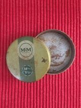 Vintage M&M - Mittag & Volger typewriter ribbon tin packaging image 1