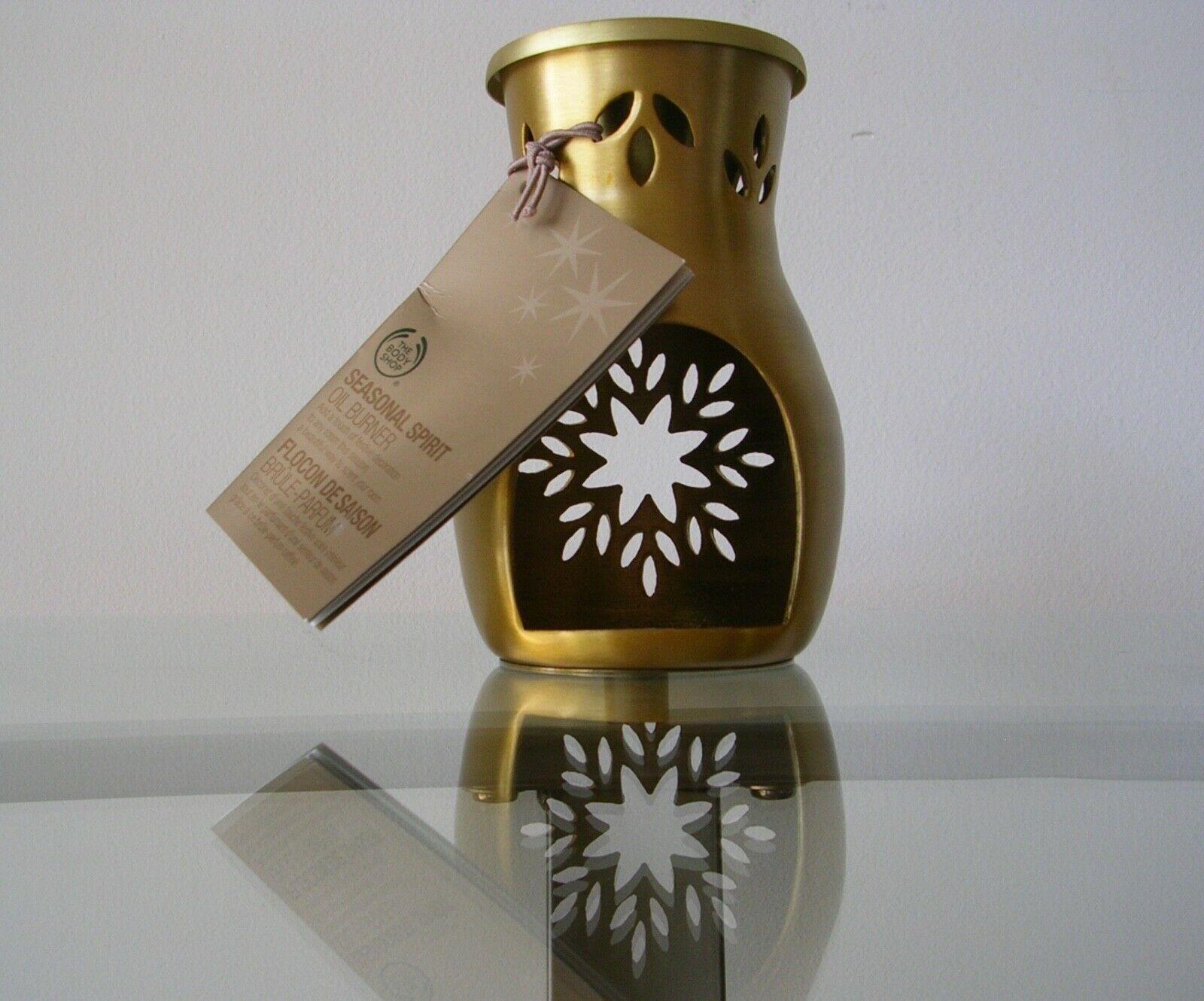 The Body Shop SEASONAL SPIRIT OIL BURNER Warmer Home Fragrance NWT New With Tag - $25.43
