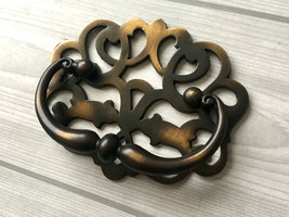 "2.25"" Bail Dresser Pulls Drawer Handles Vintage Style Antique Brass 2 1/... - $10.50"