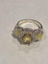 Avon Legacy Riches Ring Yellow Size 10 - $9.00