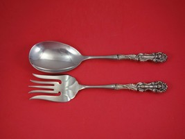 Lion by Frank Smith Wallace Sterling Silver Salad Serving Set w/ Stainle... - $245.65