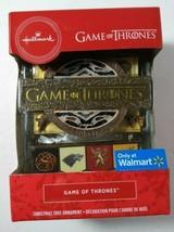 Hallmark 2019 Game of Thrones House Crests LOGO Boxed Ornament Stark Targaryen - $14.84