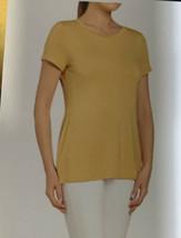 Women's Joan Vass Soft Tee (Medium, Bosc Pear) - $14.99