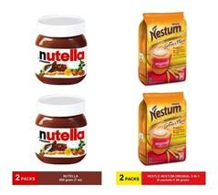 Ferrero Nuttela Hazelnut Spread With Cocoa 200g, Nestum 3-IN-1 Original Cereal - $41.90