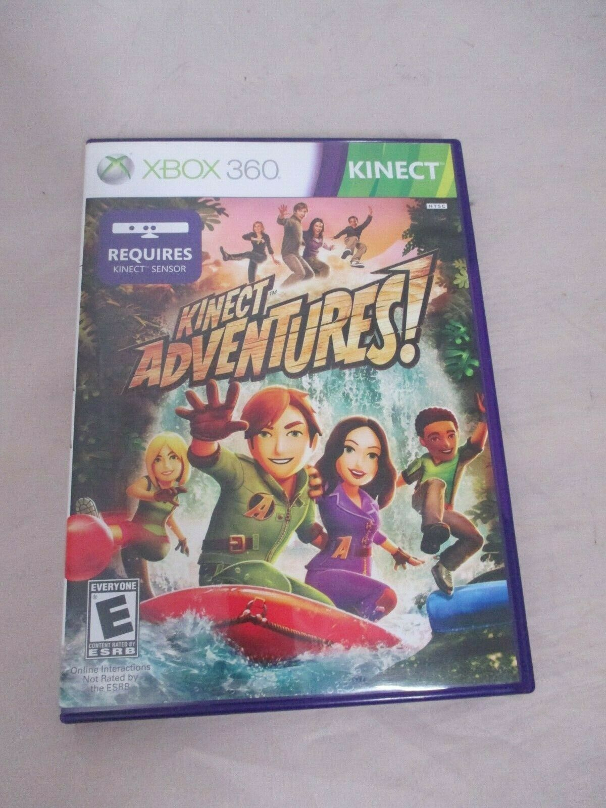 Primary image for Kinect Adventures (Microsoft Xbox 360, 2010) Complete Case Manual